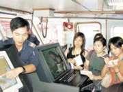 水警輪控制室設備先進。