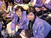 周嘉韻(左)、陳曉盈(右)