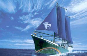 「彩虹勇士號」有48年歷史,曾到過世界各地,是綠色和平推動可再生能源的「大使」。