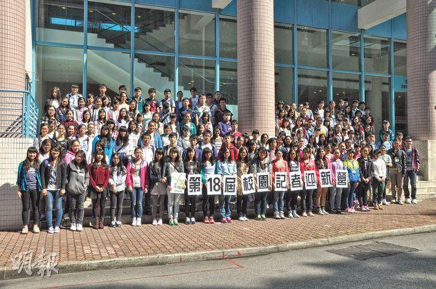 約400名校記齊集中大崇基學院,參與迎新營,了解傳媒工作。