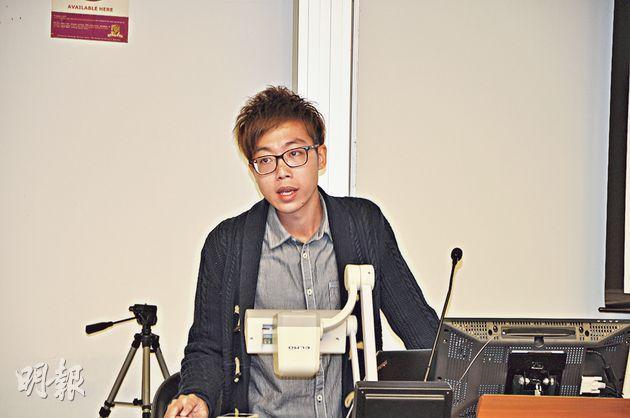 《明報》偵查組資深記者屈俊樂傳授偵查報道的技巧,「記者就是要發掘社會上的不公義問題,監察政府及權貴」。