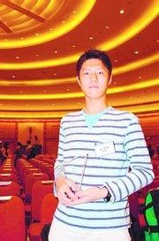 最佳表現學生之一巫泰,認為當校記最重要夠投入。