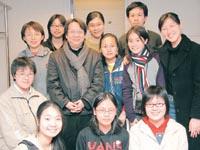 訪問期間杜Sir不忘鼓勵校記發問,並教導他們採訪技巧,果然是位好老師。