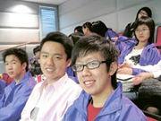 郭秦瑋(左)、湯卓騫(右)